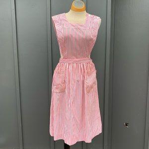 Vintage Pinafore Candy striper Dress